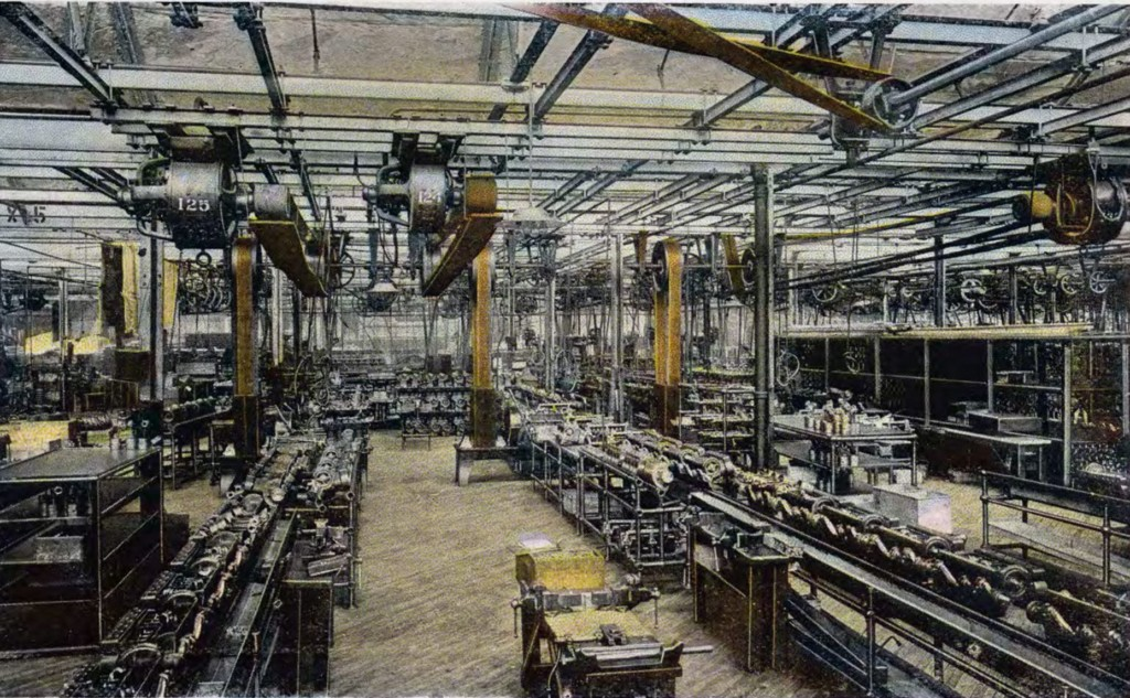 Ford Motor Assembly 1917