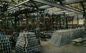 Ford Piston Shop 1917