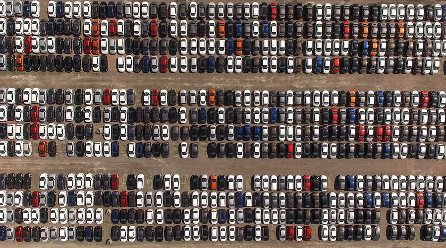 Car Parking of Unsold Cars
