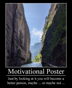 Fake Motivational Poster