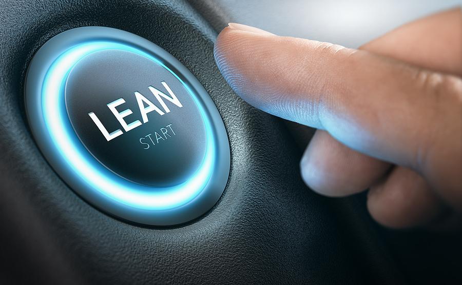 Lean start button