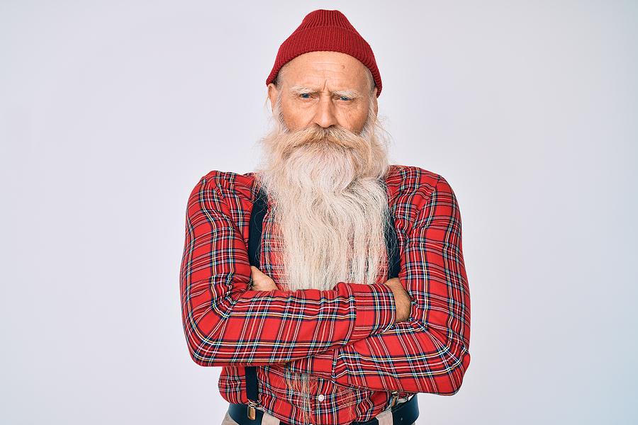 Old Man with Beard