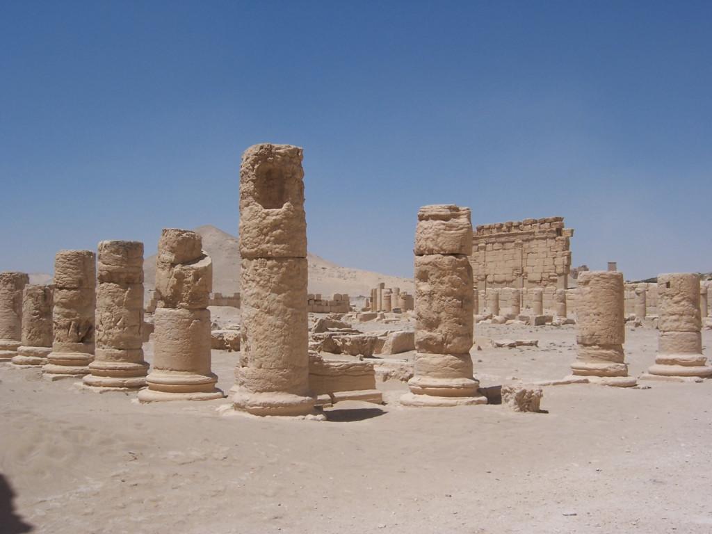 Broken Columns at Palmyra
