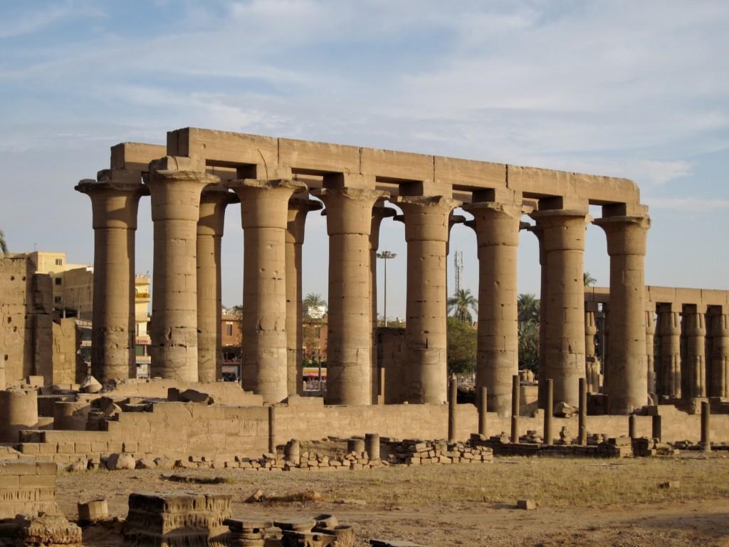 Columns at Luxor