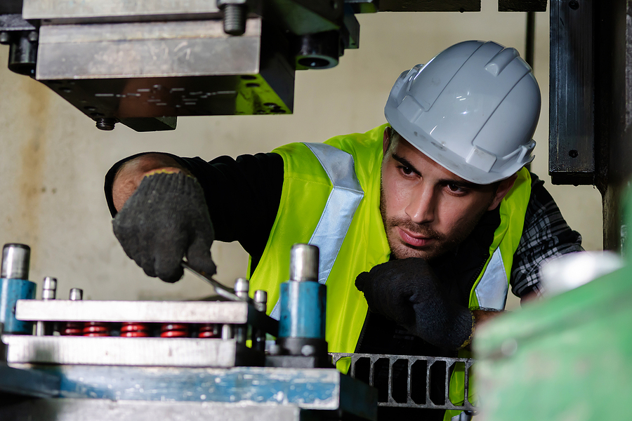 Maintenance Work in Industry