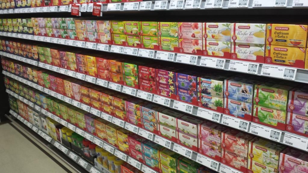 Retail Supermarket with Tea