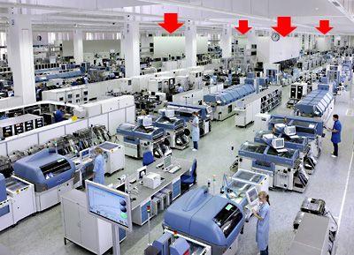 Siemens Amberg Shop Floor Press Photo